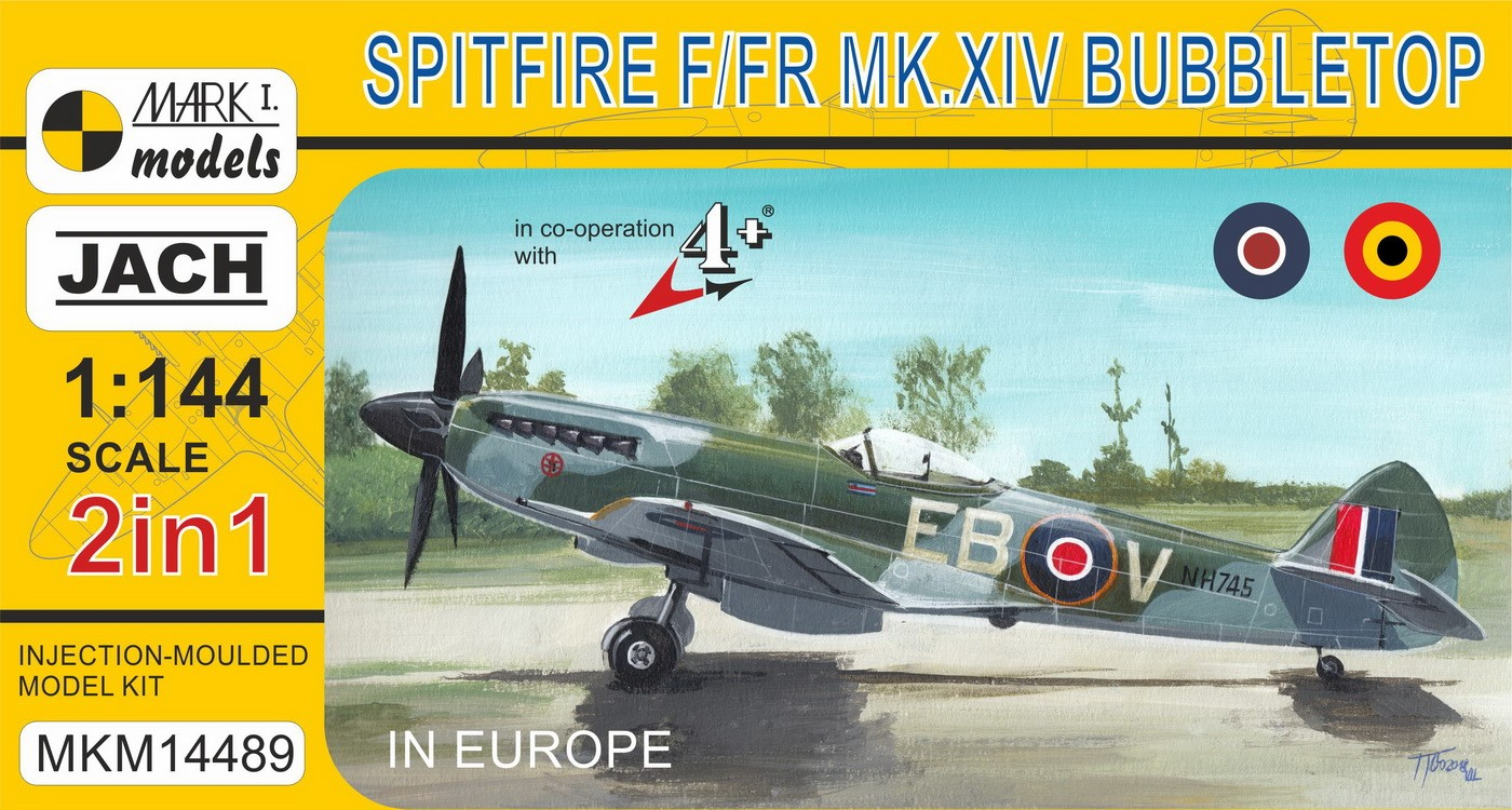 Spitfire XIV Bubbletop �In Europe� (2in1)