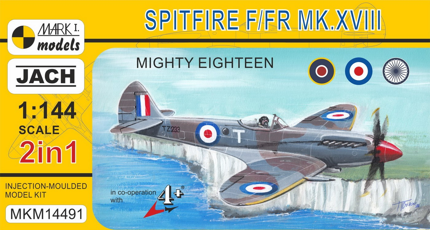 Spitfire XVIII 'Mighty Eighteen' (2in1)