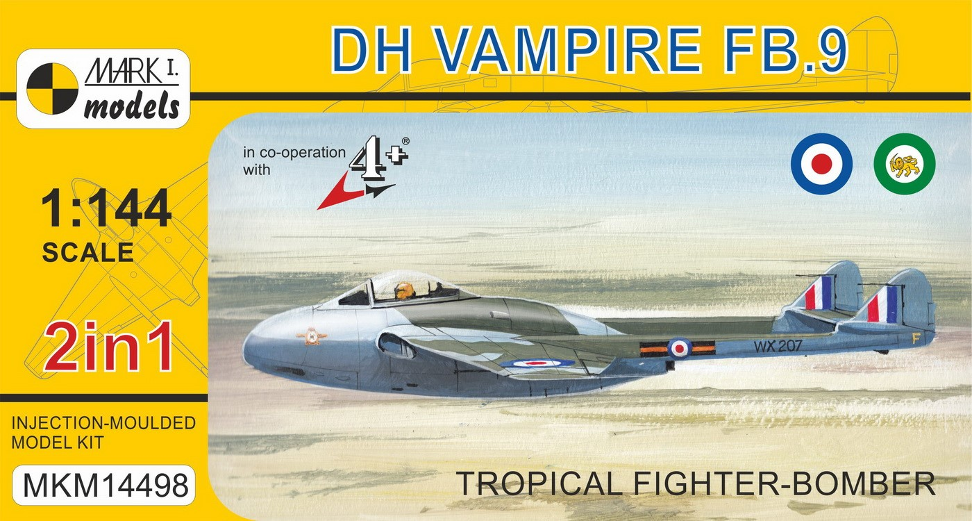 DH Vampire FB.9 'Tropical Fighter-Bomber' (2in1)
