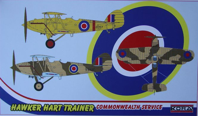 Hawker Hart Trainer-Commonwealth service